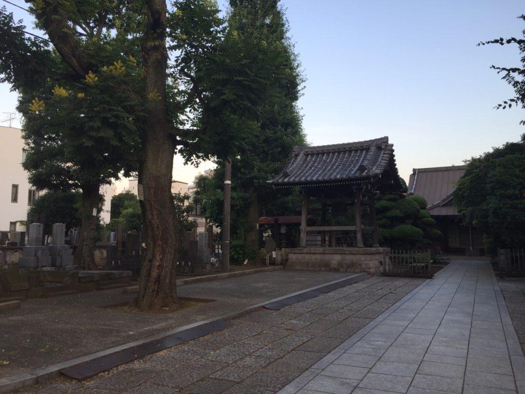 現在の吸江寺