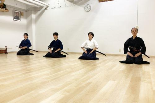 山田先生講習会|居合(無外流)|杖術(神道夢想流)
